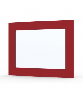 Miroir Ma-créa Japan rouge brillant